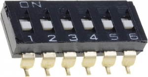 DIP SWITCH 5  A6S-2101-H