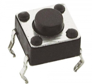 Micro switch 6x6mm; 4,3mm; 0,8mm