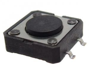 Micro switch TACT 12x12mm; 4,3mm; SMD